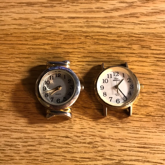 Timex Accessories - 2 watch face lot